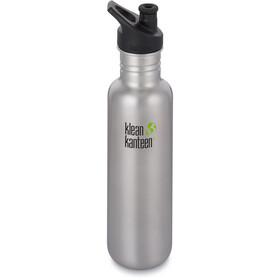 Klean Kanteen Classic Bottle Sport Cap 800ml brushed stainless